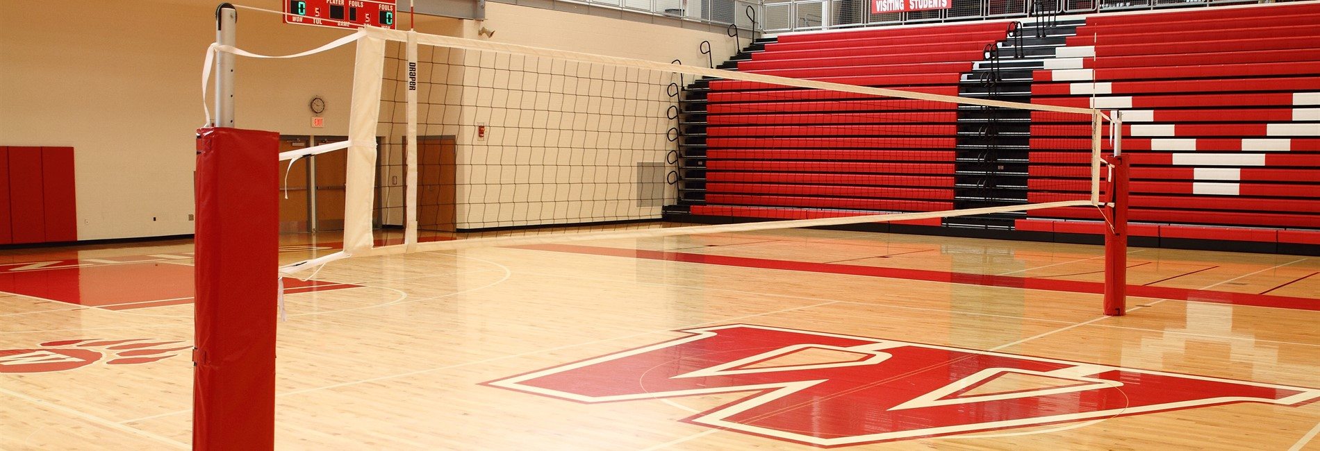 VB Gym floor