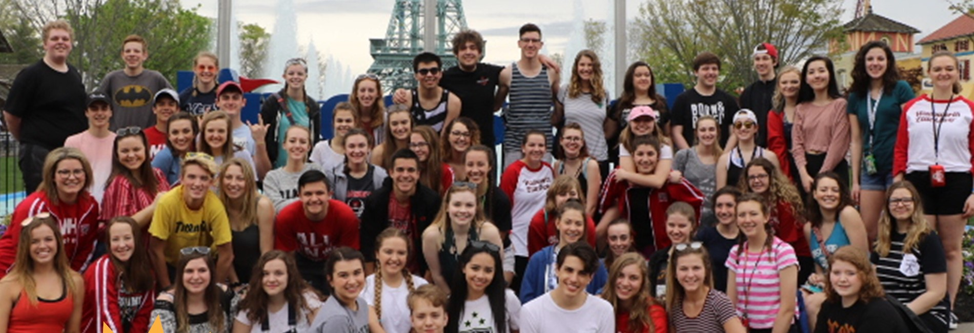 Elite and Show Choirs at Kings Island for Music in the Park!