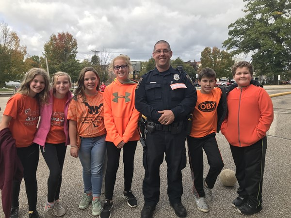 Unity Day with Officer Shonk