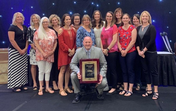 Lincoln Elementary was recognized as a 2019 Hall of Fame School