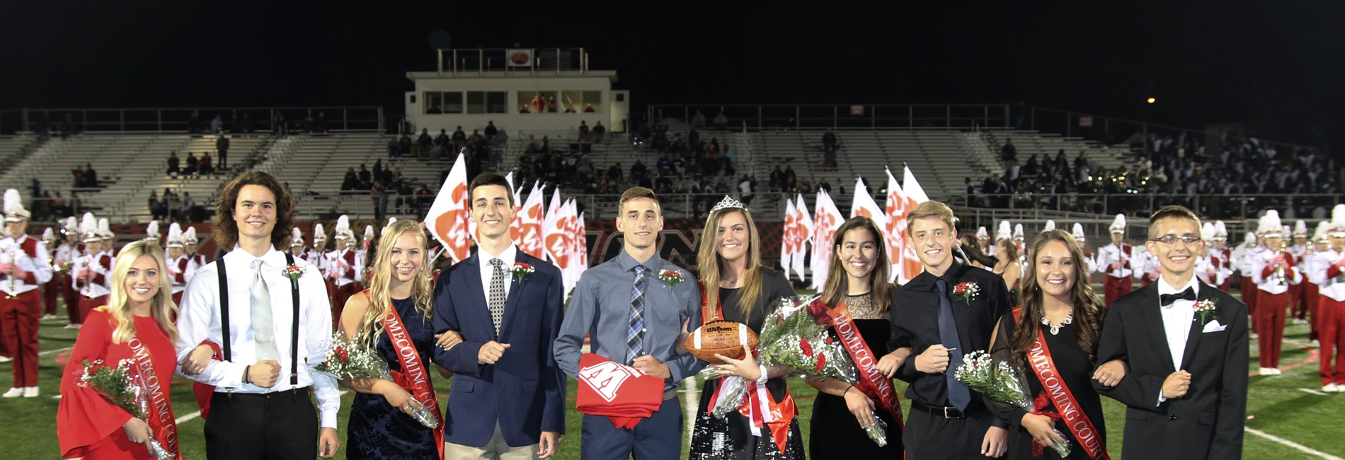 Wadsworth High School Homecoming Court
